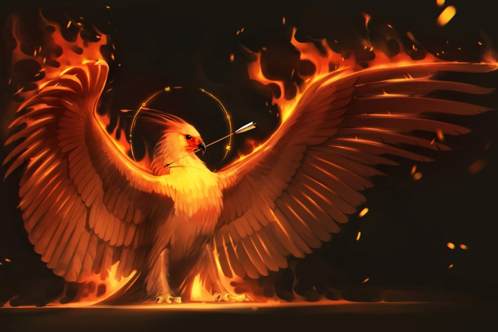 Home-Decoration-font-b-fire-b-font-font-b-arrow-b-font-phoenix-bird-art-wings